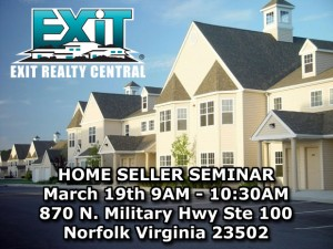 Homes with Exit Realty Central and Home Seller Seminar in Coastal Virginia