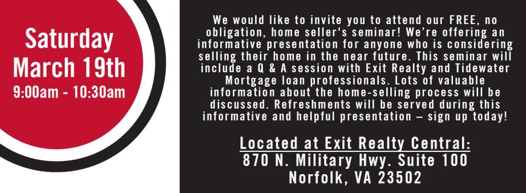 Home Seller Seminar Information