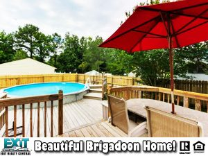 Pool and Deck of 1717 Crowsfoot Ct, Virginia Beach VA, 23464