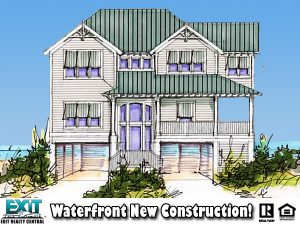 Illustration of potential new construction, 113 Grandview Drive, Hampton VA, 23664