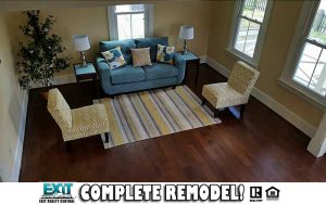 Family Room of 1407 Jackson Ave, Chesapeake VA, 23324