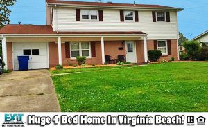 Front of Home located at 5344 Princess Anne Rd, Virginia Beach VA, 23462