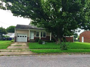 Front of property located at 409 Bertha Lane, Portsmouth, VA 23701