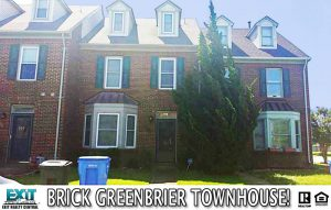Front of Townhome at 1102 Killington Arch, Chesapeake VA, 23320