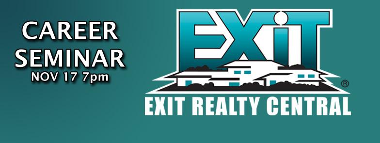 EXIT Career Seminar Nov 17th Title Graphic