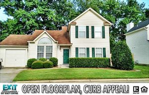 Front of home located at 309 Oak Lake Run, Chesapeake VA 23320