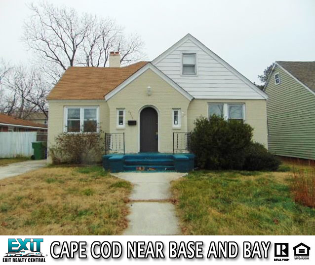 Front of House Located at 9216 Rippard Ave, Norfolk Va, 23503