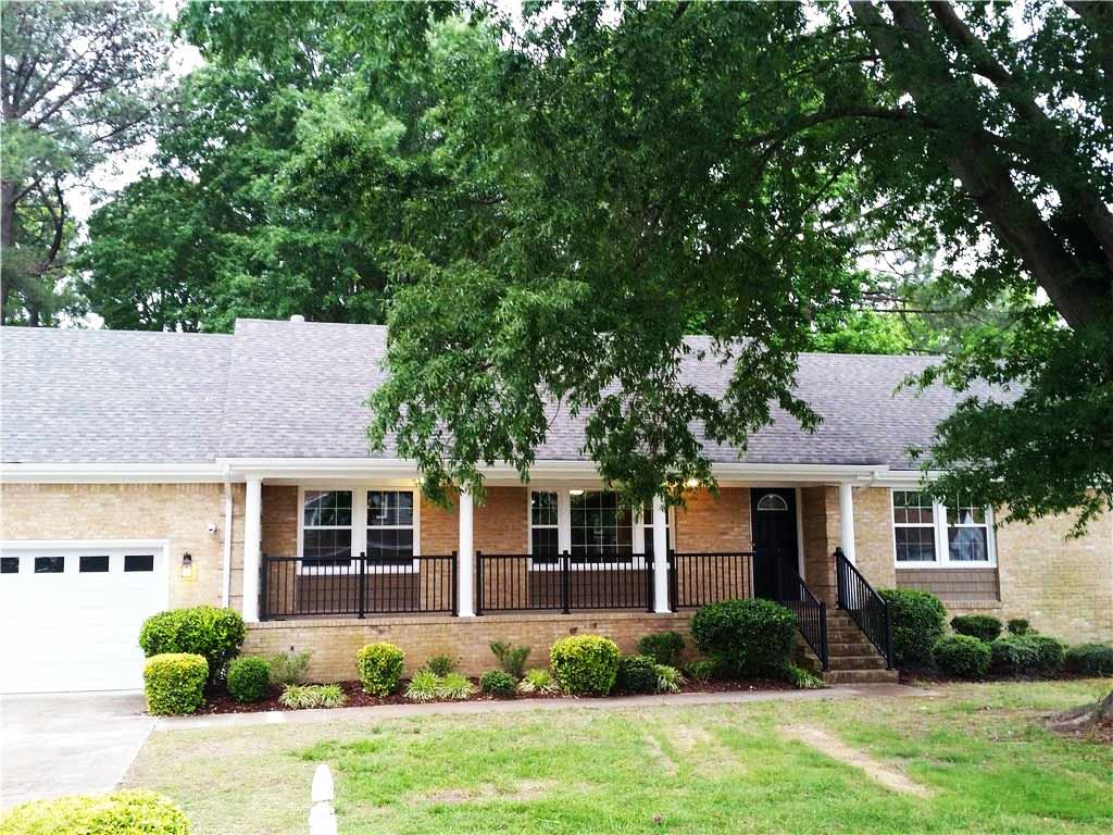 Front of home located at 2432 Watermill Grv Chesapeake, VA 23321