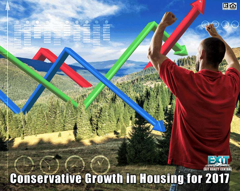 Chart, Mountain, guy, Forecasts of Housing Growth in 2017