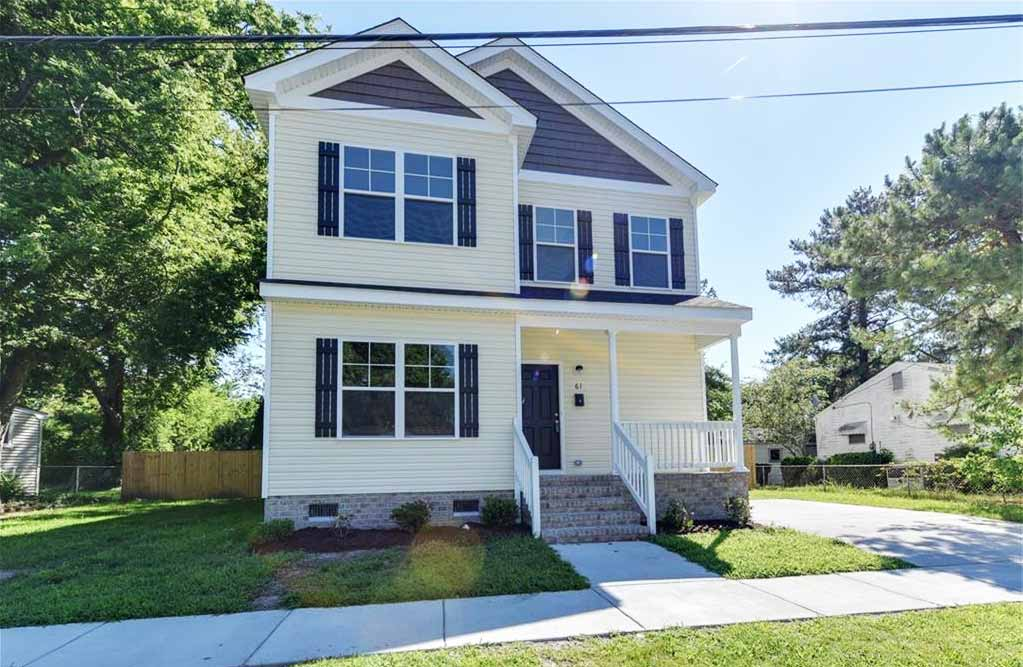 Front of house located at 1618 Maple Ave, Portsmouth VA, 23704