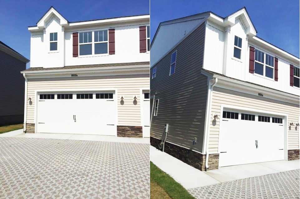 Front of Condo located at 8037 Ransom Rd, Norfolk, VA 23518