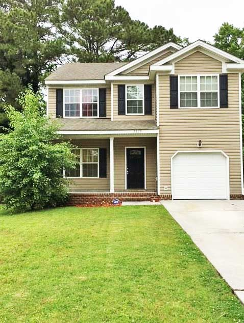 Front of house located at 2820 Old Galberry Rd, Chesapeake, VA 23323
