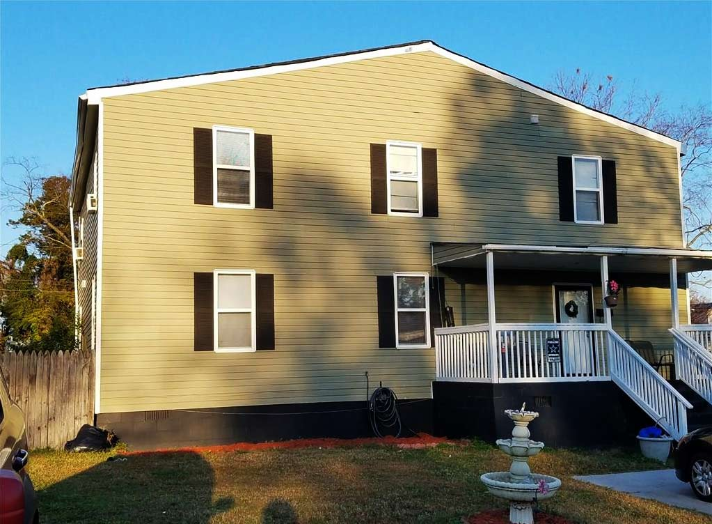 Front of house located at 116 Beechwood Avenue, Newport News VA 23608