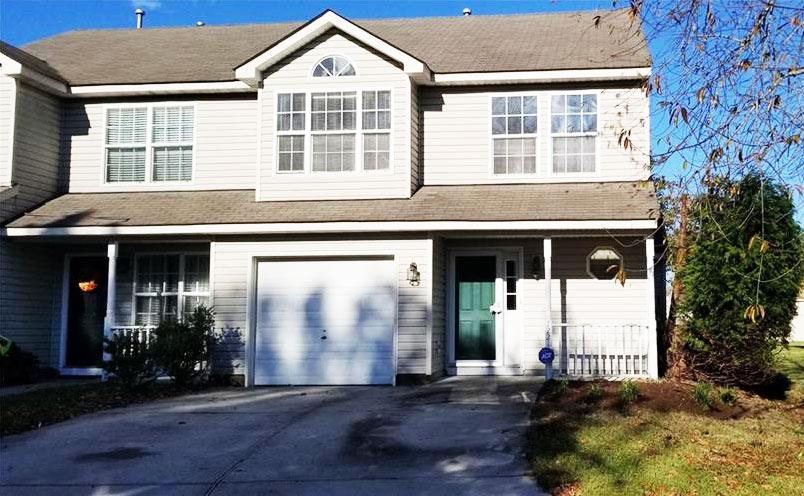 Front of home located at 1221 Thompkins Lane, Virginia Beach VA 23464