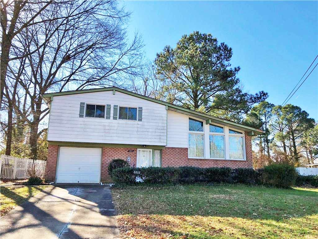 Front of property located at 5513 Barnhollow Road, Norfolk VA 23502