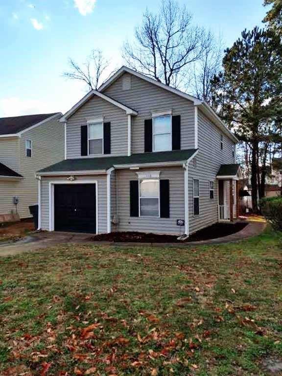 Front of property located at 116 Ashton Green Boulevard, Newport News VA 23608