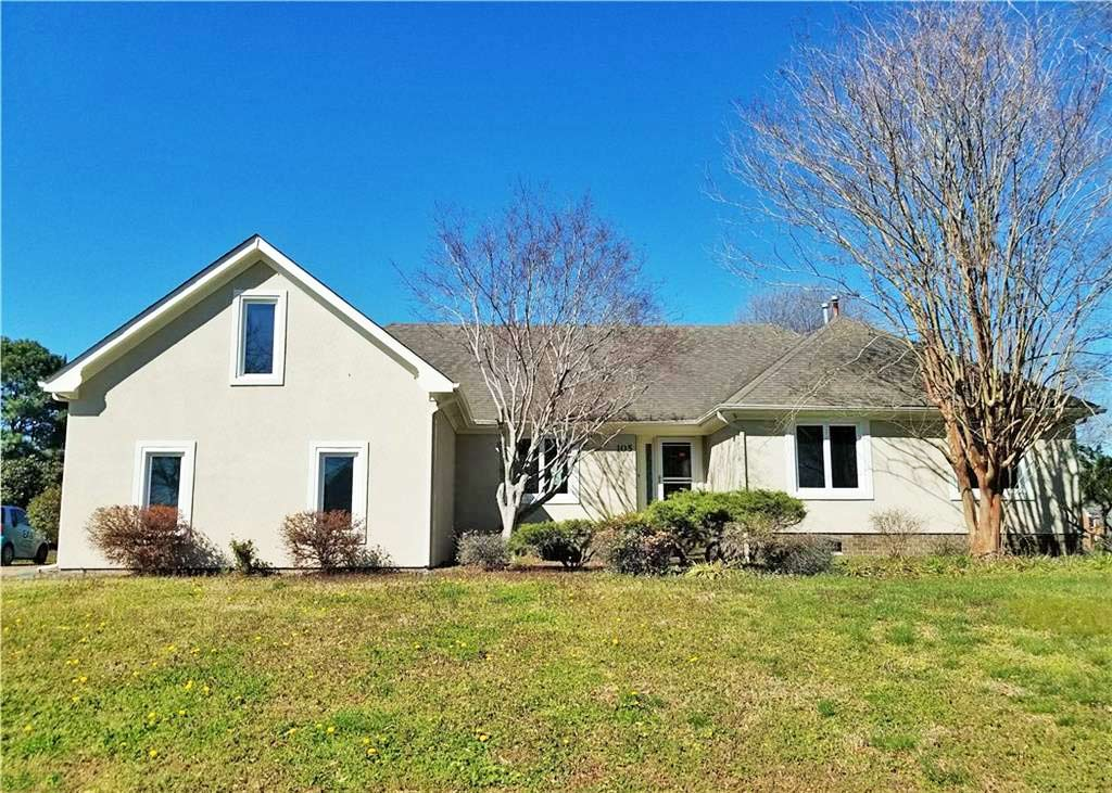 Front of property located at 105 Bennetts Creek Landing, Suffolk VA 23435