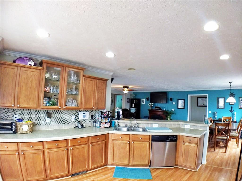 Kitchen of property located at 254 Gliden Road, NC 27946