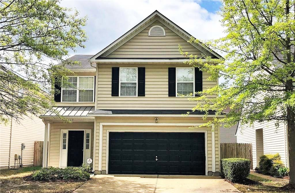 Front of property located at 4117 River Breeze Circle, Chesapeake VA 23321