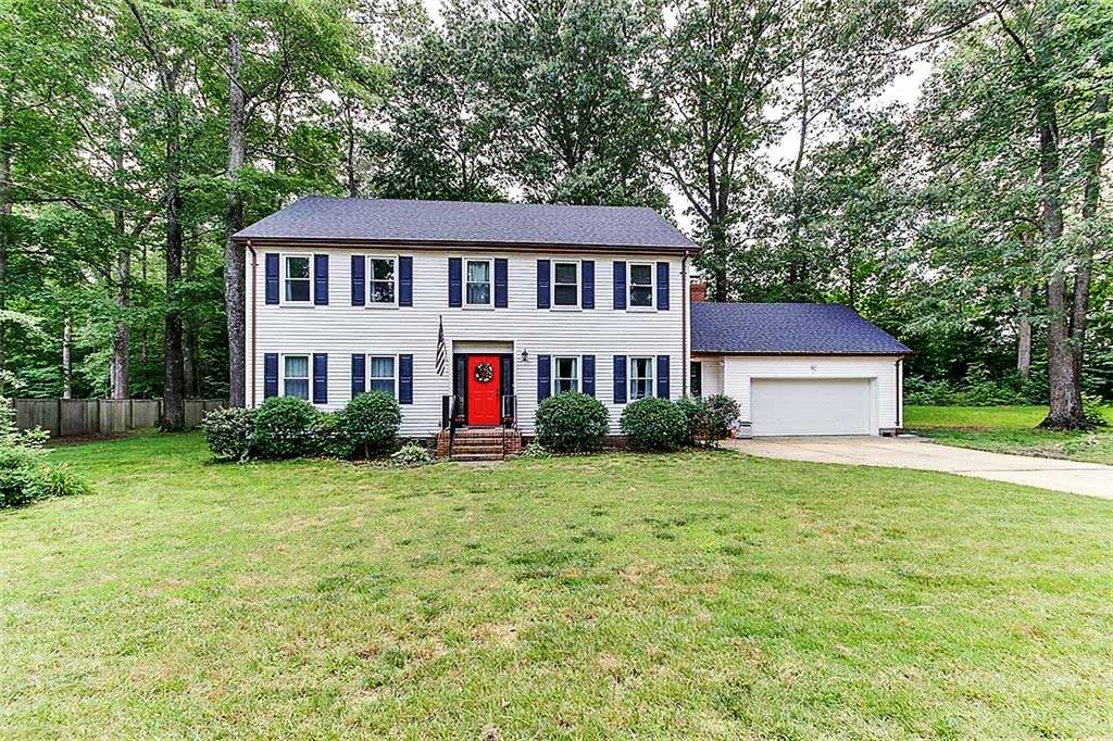 Front of property located at 2772 Blacksmith Trail, Chesapeake, VA 23322