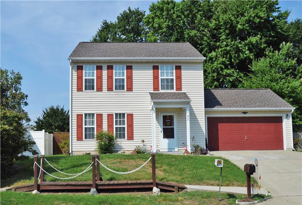 Front of property located at 908 Gilford Court, Newport News, VA 23608