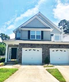 Front of condo located at 1403 Marsh Wren Circle, Portsmouth, VA 23703