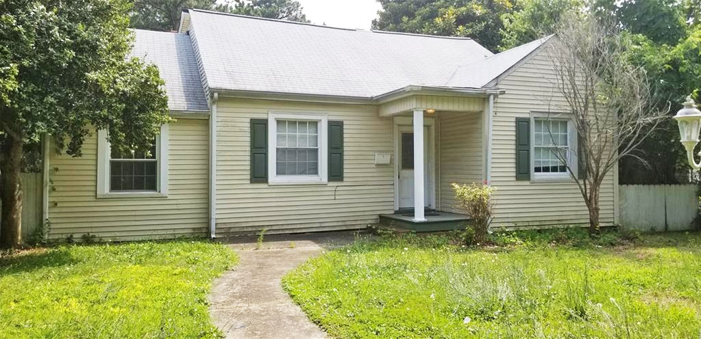 Front of property located at 173 Swanson Road, Norfolk, VA 23503
