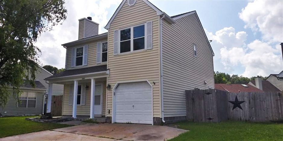 Front of property located at 2209 Cinnabar Court, Virginia Beach, VA 23456