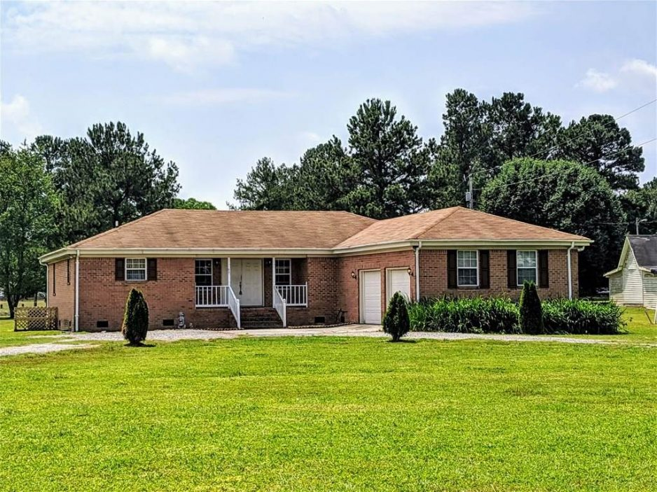 Front of property located at 7 Lee Riddick Lane, Gatesville, North Carolina 27938