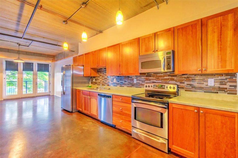 Kitchen of 433 Saint Pauls Boulevard Unit#2E, Norfolk, Virginia 23510