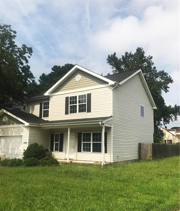 Front of property located at 2300 Wyoming Avenue, Norfolk, Virginia 23513