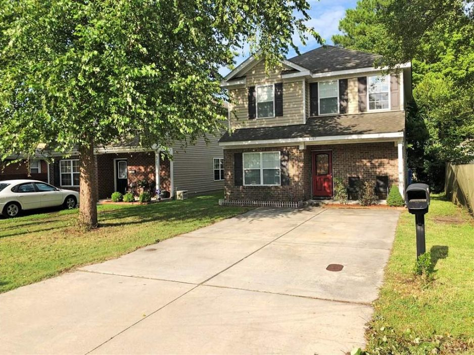 Front of property located at 4107 3rd Street, Chesapeake, Virginia 23324