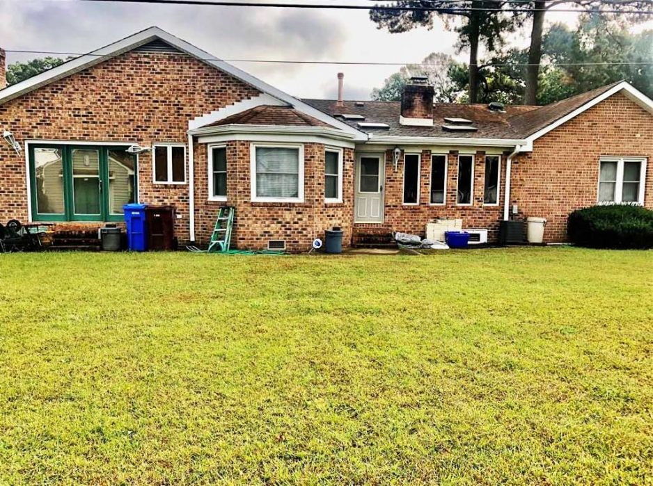Front of property located at 2132 Allison Drive, Chesapeake, VA 23325