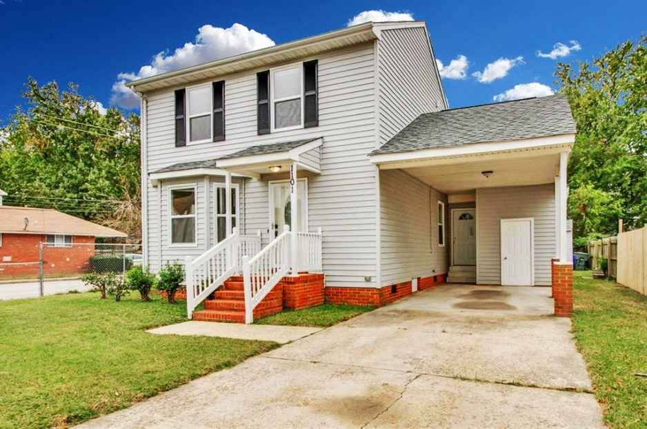 Front of property located at 1101 Meads Road, Norfolk, VA 23505, Norfolk VA