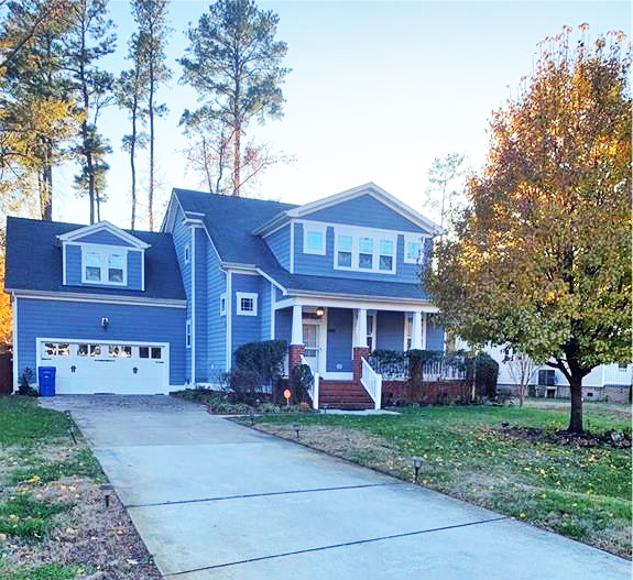 Front of property located at 1853 Rockwood Drive, Chesapeake, VA 23323