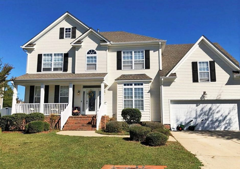 Front of property located at 1812 Silveria Street, Virginia Beach, Virginia 23464