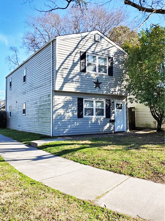 Front of house for sale located at 2446 Palmetto Street, Norfolk, VA 23513