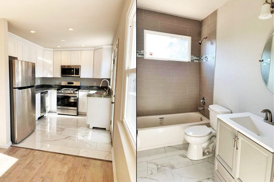 Bathroom And Kitchen of 1013 Warfield Drive, Portsmouth, VA 23701