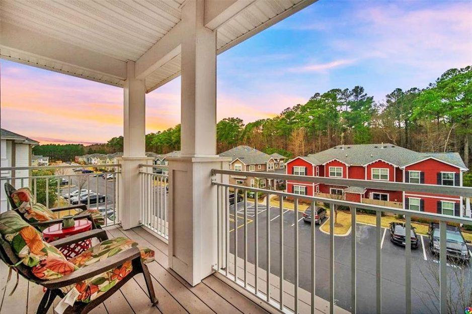 Balcony Of 4308 Colindale Road Unit #307, Chesapeake, VA 23321