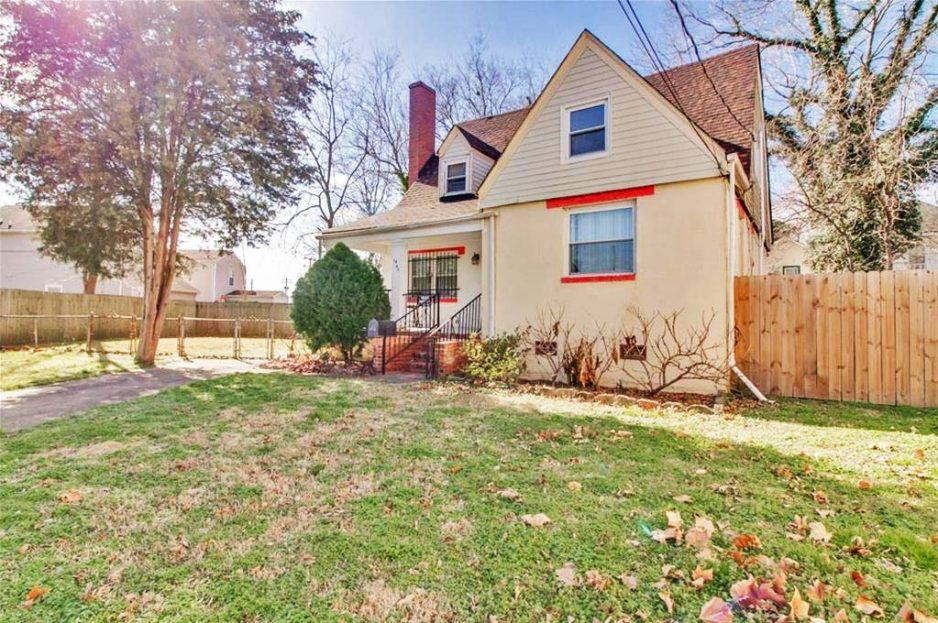 Front of property located at 1447 Dungee Street, Norfolk, VA 23504