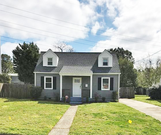 Front of property located at 6108 Sunshine Avenue, Norfolk, VA 23509