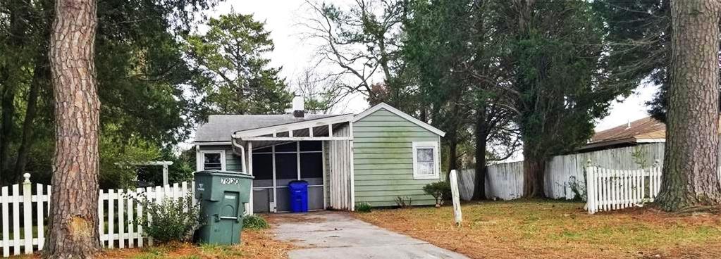 Front Of Property Located at 7920 Van Patten Road, Norfolk, VA 23505
