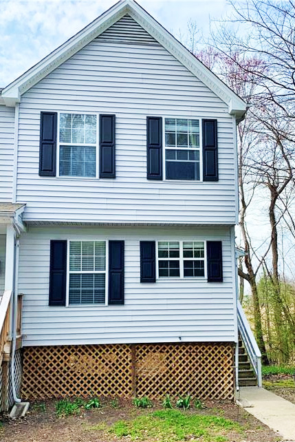 Front of property located at 44 Williamson Park Drive Unit#B, Newport News, Virginia 23608