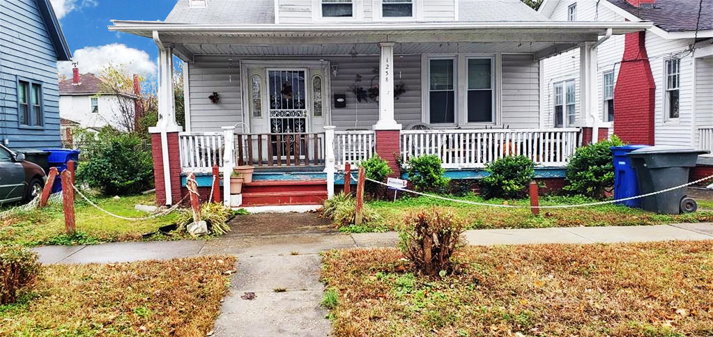 Front of property Located at 1238 23rd Street, Newport News, Virginia 23607