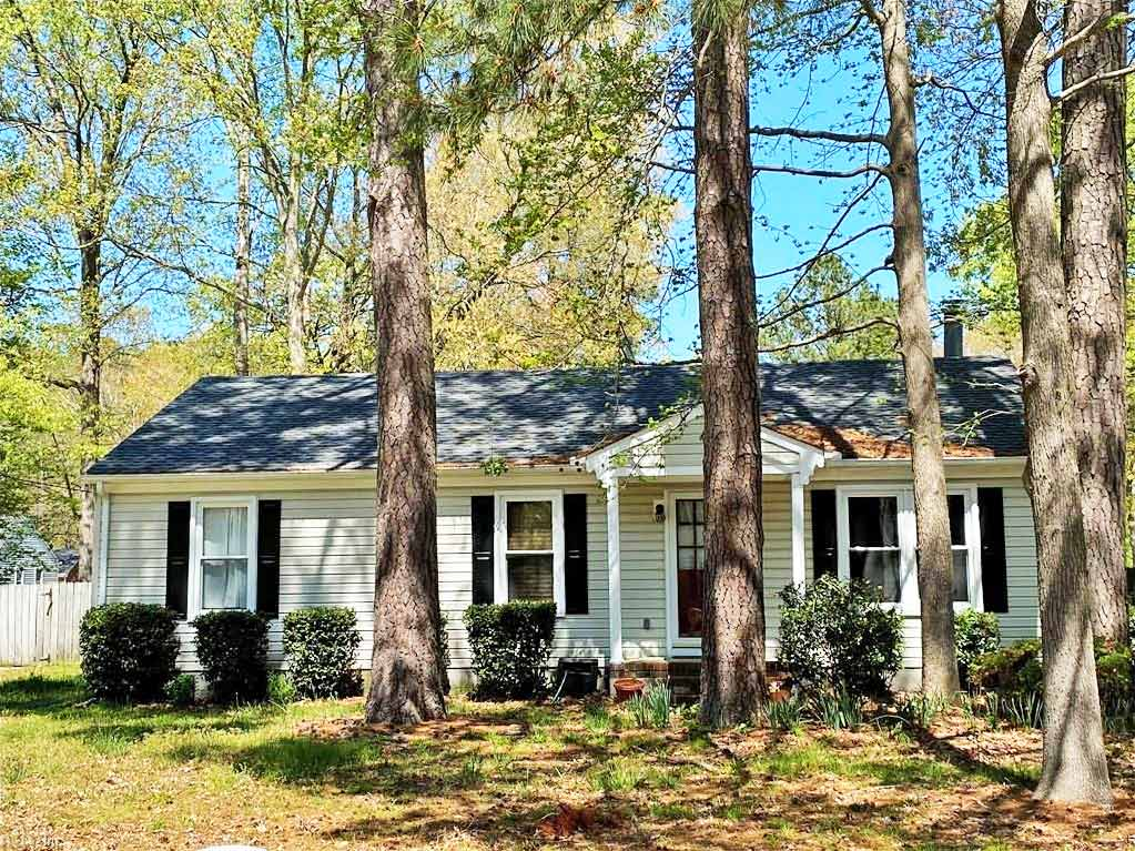 Front of property located at 1001 Chattanooga Street, Chesapeake, VA 23322