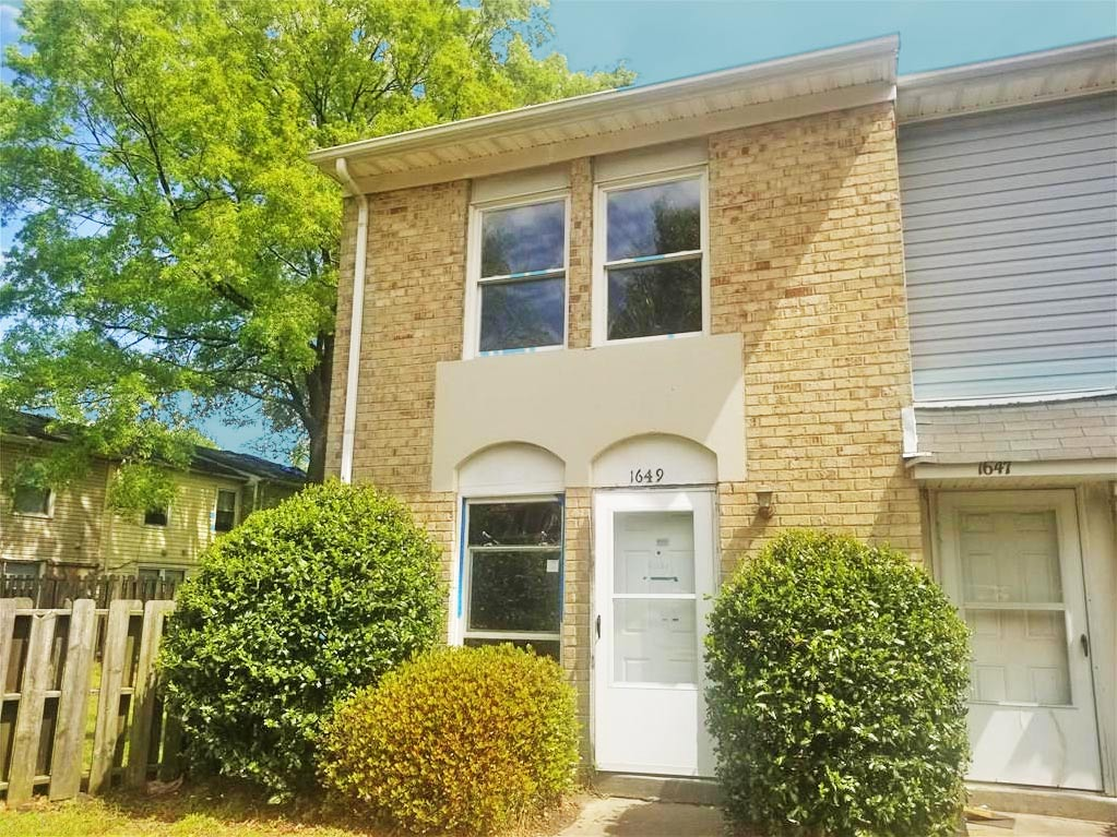 Front of property Located at 1649 Darren Circle, Portsmouth, Virginia 23701