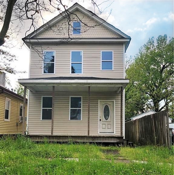 Front of property located at 3233 Lyons Avenue, Norfolk, Virginia 23509