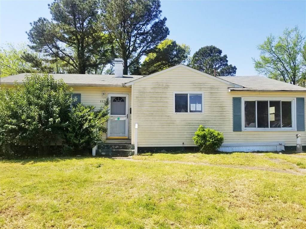 Front of property located at 523 Marcus Street, Chesapeake, VA 23320