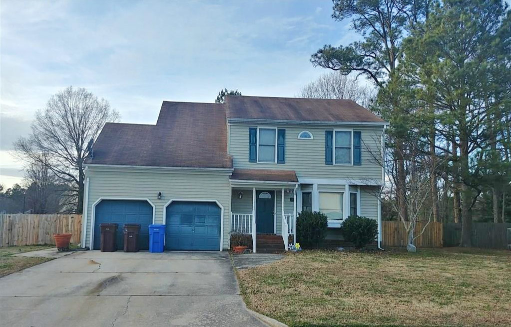 Front of property located at 4639 Captain Carter Circle, Chesapeake, VA 23321