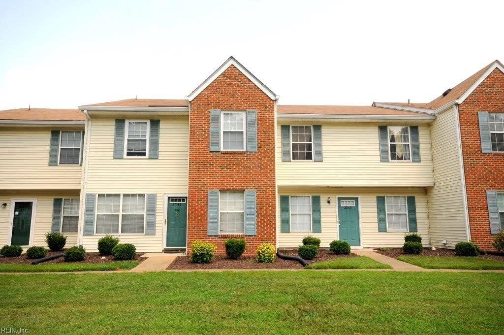 Front of  condo located at 3343 Clover Meadows Drive, Chesapeake, VA 23321